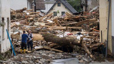 В Германии 1300 человек пропали и 58 погибли из-за наводнений