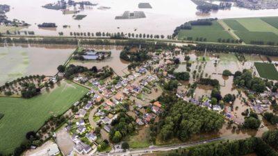 Число жертв наводнения в Германии достигло 133 человек