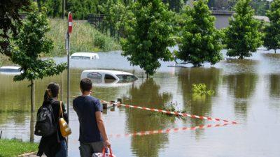 Эксперты: Европу ждут более сильные штормы из-за изменения климата