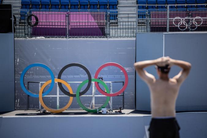 Фото на стадионе Ариаке 22 июля 2021 года в Токио, Япония. Carl Court/Getty Images | Epoch Times Россия