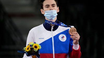 Российский тхэквондист принёс сборной РФ вторую медаль на Олимпиаде в Токио — бронзовую