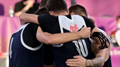 Мужская сборная России по баскетболу 3х3 обыграла Сербию и вышла в финал Олимпиады