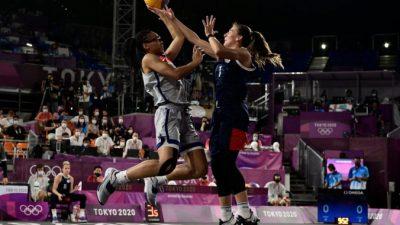 Мужская и женская команды РФ по баскетболу 3х3 стали серебряными призёрами Олимпиады в Токио