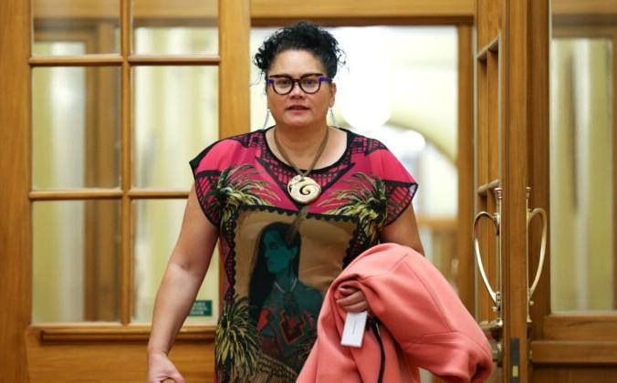 Депутат от лейбористской партии Луиза Уолл  в Парламенте в Веллингтоне, Новая Зеландия, 20 октября 2020 г. Фото: Hagen Hopkins / Getty Images | Epoch Times Россия