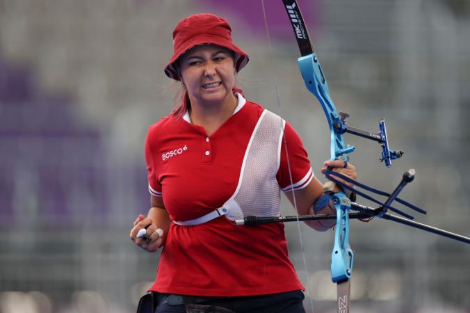 GettyImages 1331420799 676x450 1 - Российская лучница Елена Осипова завоевала серебряную медаль на Олимпиаде в Токио