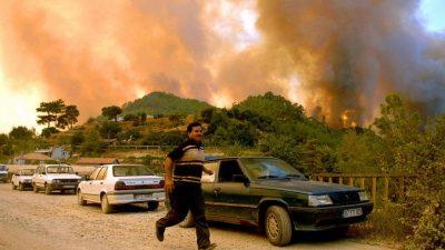 Российских туристов небудут эвакуировать изгорящей Антальи (Видео)