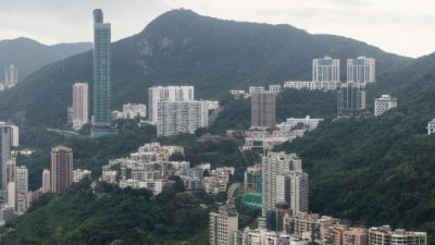 Парковочное место на горе Николсон в Гонконге продано за $1,53 млн