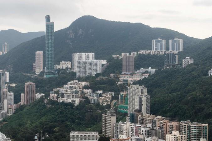 На горе Николсон находится один из самых дорогих элитных жилых участков в Гонконге. (Энтони Уоллес / AFP / Getty Images   Epoch Times Россия