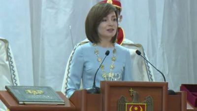 На выборах в парламент Молдовы победила партия действующего президента Майи Санду