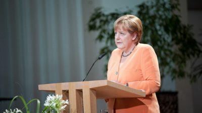 Ангела Меркель надеется, что Украина и Россия продлят договор по газу