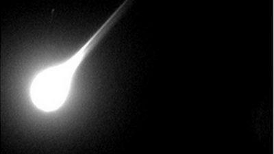Над Турцией пролетел метеорит, ярко осветивший небо (Видео)