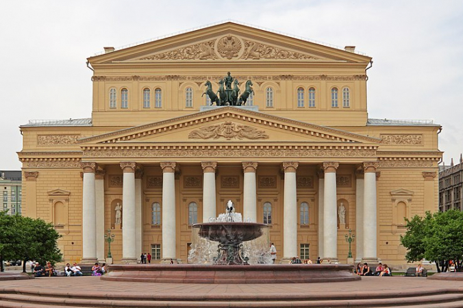 Большой театр. Фото: A.Savin(Wikimedia Commons·WikiPhotoSpace)   Epoch Times Россия