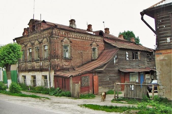 Pavlovsky posad typical house 676x450 1 - Туристическое Подмосковье. Что посмотреть в Павловском Посаде за один день?