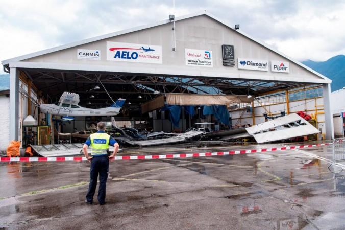 Штормы нанесли большой ущерб Швейцарии и Германии