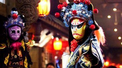 Каково значение маски в китайской опере?