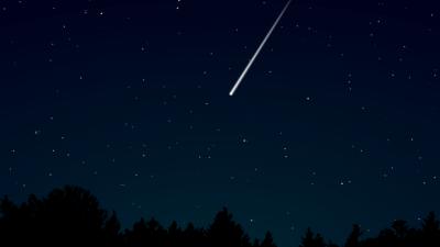 В Норвегии упал большой метеорит (Видео)