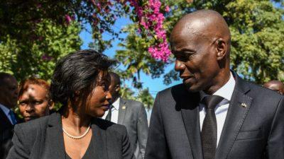 Жена убитого президента Гаити сделала первое заявление после нападения