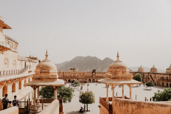 Дворцового комплекса Амбер в Индии. Фото: Ibrahim Rifath/unsplash.com//License Unsplash | Epoch Times Россия