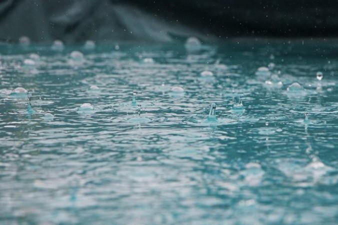 Потоп в аэропорту Шереметьево после дождя (Видео)