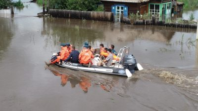 Наводнения на Дальнем Востоке затронули 12 тыс. человек. Ущерб оценён в 3,7 млрд руб.