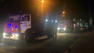 В Ростове-на-Дону ликвидировали пожар в жилом доме на площади 350 кв. м