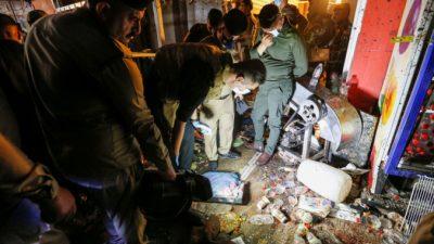 Врезультате теракта виракском Садр-Сити погибло неменее 35 человек, десятки получили ранения