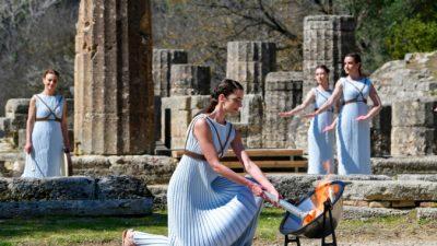 По местам Олимпийских игр в Греции и во всём мире
