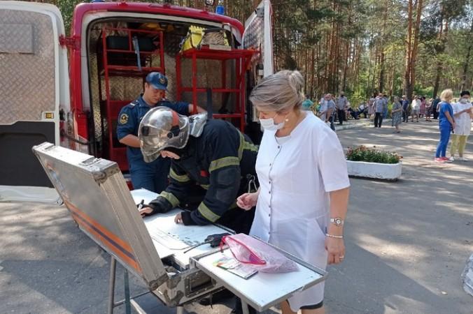 Около 300 человек эвакуировали из больницы Владимира из-за пожара