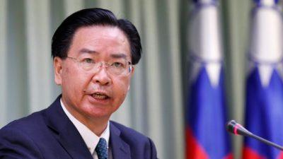 Министр: Китайский режим по примеру талибов мечтает взять Тайвань под свой контроль