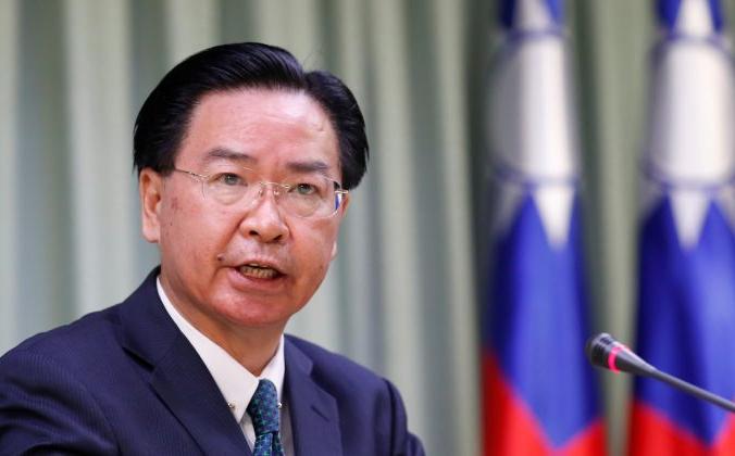 Министр иностранных дел Тайваня Джозеф Ву на пресс-конференции в Тайбэе, Тайвань, 21 августа 2018 г. (Reuters / Stringer)   Epoch Times Россия
