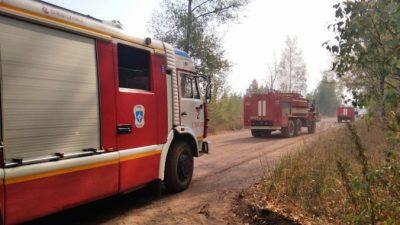 Два села загорелись в Самарской области, уничтожен 21 дом