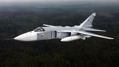 Под Пермью разбился бомбардировщик Су-24, пилоты выжили