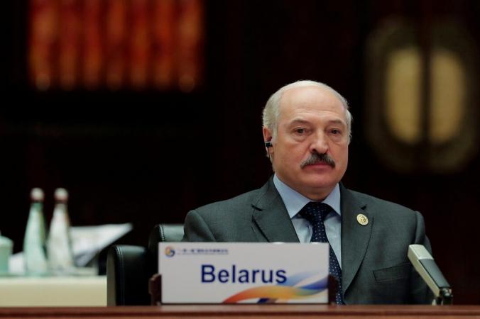 Президент Беларуси Александр Лукашенко принял участие в работе первого этапа круглого стола форума «Один пояс, один путь» в Международном конференц-центре на озере Яньци, Пекин, Китай, 15 мая 2017 г. (Lintao Zhang / Pool / Reuters)   Epoch Times Россия