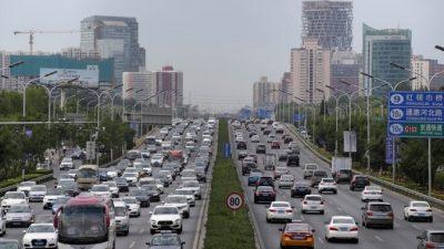 В Китае объёмы продаж автомобилей в июле падают третий месяц подряд