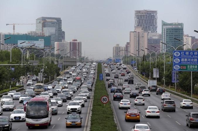 Утренний час пик в Пекине, Китай, 2 июля 2019 г. (Джейсон Ли / Reuters) | Epoch Times Россия