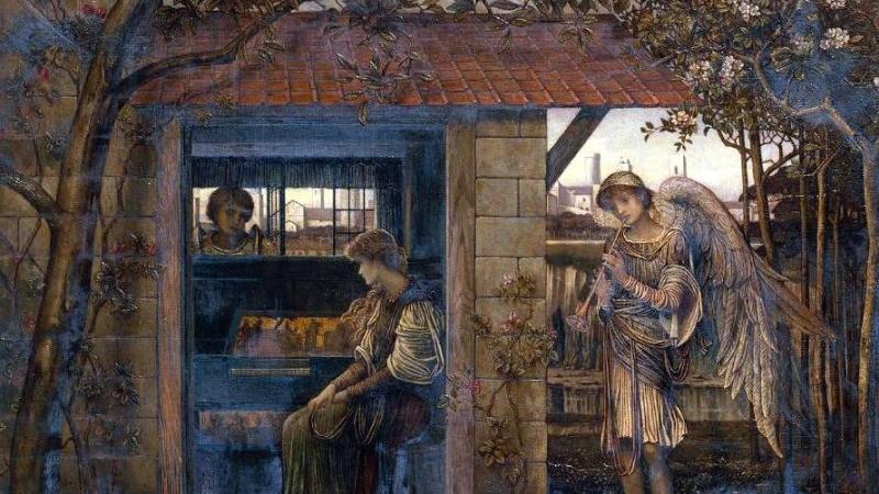 Джон Мелуиш Струдвик «Золотая нить», 1885 год/ общественное достояние | Epoch Times Россия