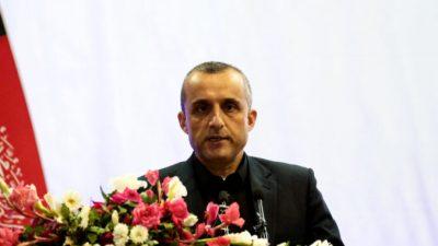 Вице-президент Афганистана заявил, что он «законный временный президент», и просит поддержки