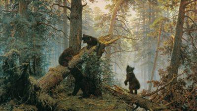 Как знаменитые мишки с картины Шишкина поссорили двух художников