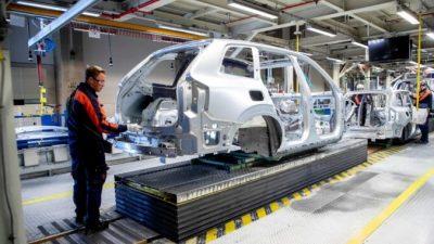 Из-за нехватки микросхем завод Volvo в Гётеборге остановил производство