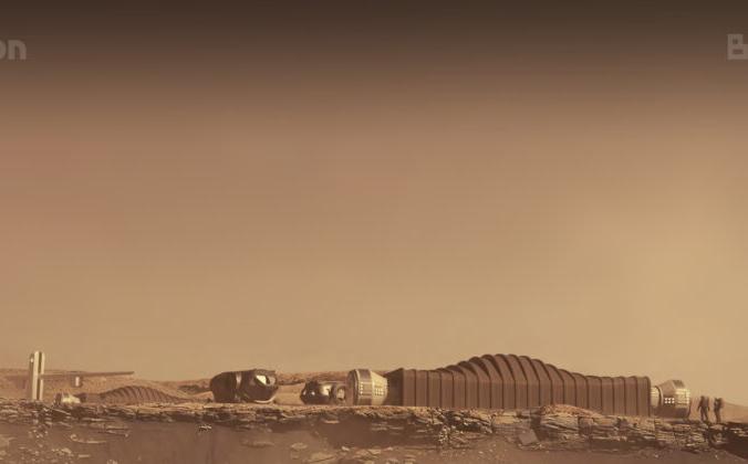 Пример среды обитания Mars Dune Alpha на Марсе в августе 2021 г. ICON / NASA через AP   Epoch Times Россия