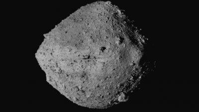 Вероятность столкновения астероида Бенну с Землёй возросла, но остаётся очень небольшой