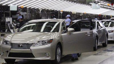 Toyota на 60% сократит производство из-за нехватки запчастей