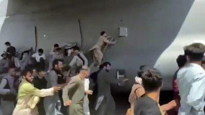 Человеческие останки найдены вшасси американского военного самолёта после вылета изКабула