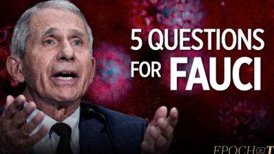 Пять вопросов к Фаучи