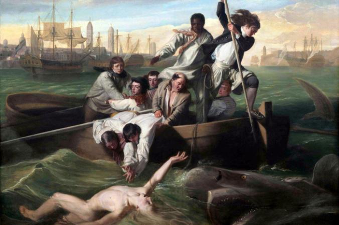 Джон Синглтон Копли «Брук Уотсон и акула», 1778 год/ общественное достояние | Epoch Times Россия