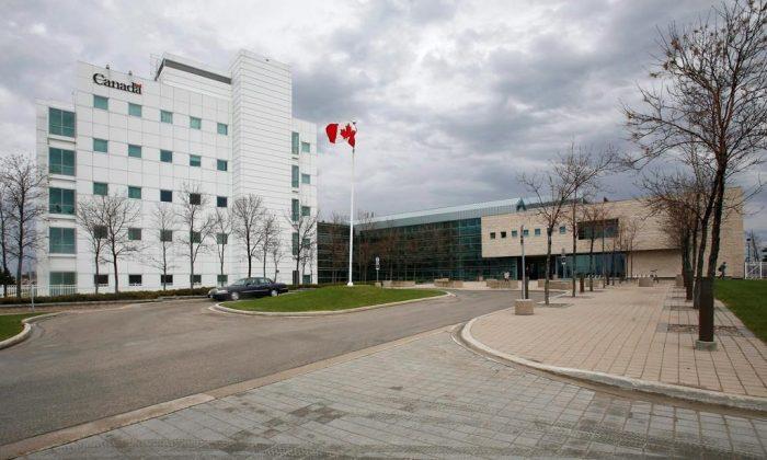 Национальная лаборатория микробиологии в Виннипеге на фото из архива. (Джон Вудс / Канадская пресса)  | Epoch Times Россия