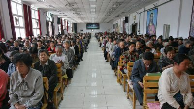 Уничтожение христианства в Китае