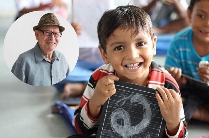 Бразильский мусорщик построил школу для детей