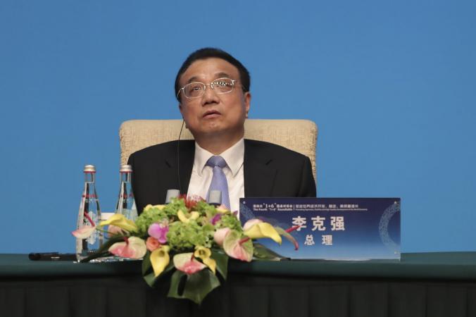 Премьер-министр Китая Ли Кэцян участвует в пресс-конференции в гостевом доме Diaoyutai в Пекине, Китай, 21 ноября 2019 г. (Lintao Zhang / Getty Images) | Epoch Times Россия