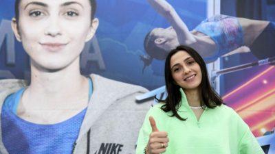 Мария Ласицкене прошла в финал Олимпиады по прыжкам в высоту